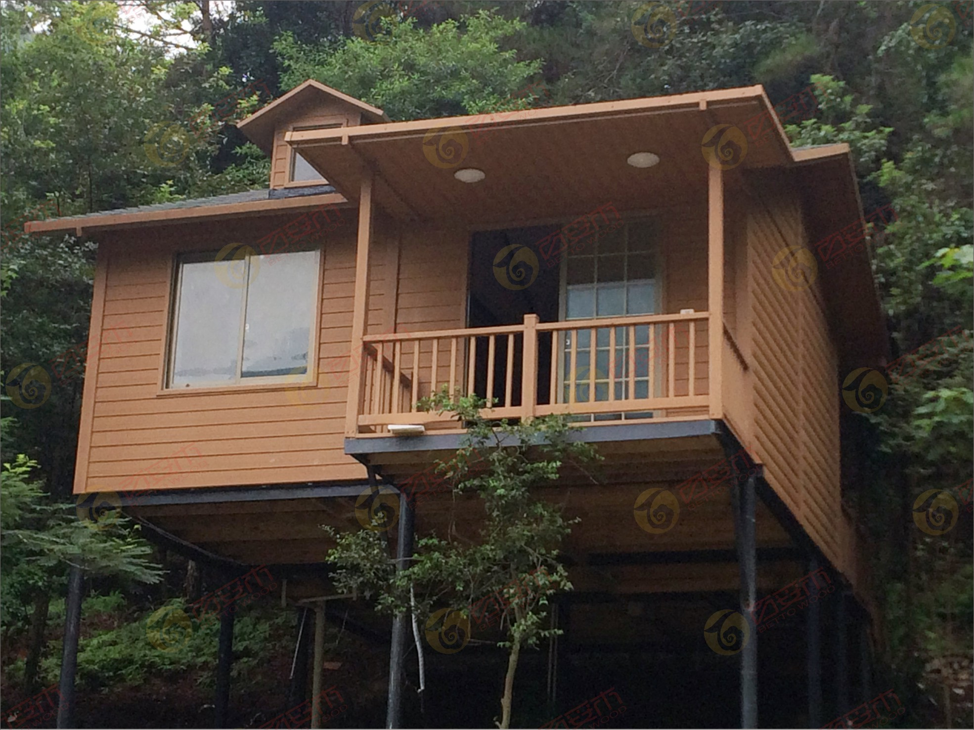 塑木木屋系列